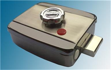 铁门关门禁磁力锁接线图-预埋门禁布线图-普通电控门接线图